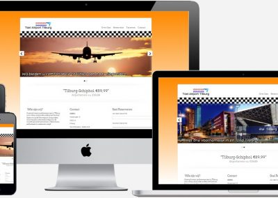 TaxiAirportTilburg.nl Webdesign