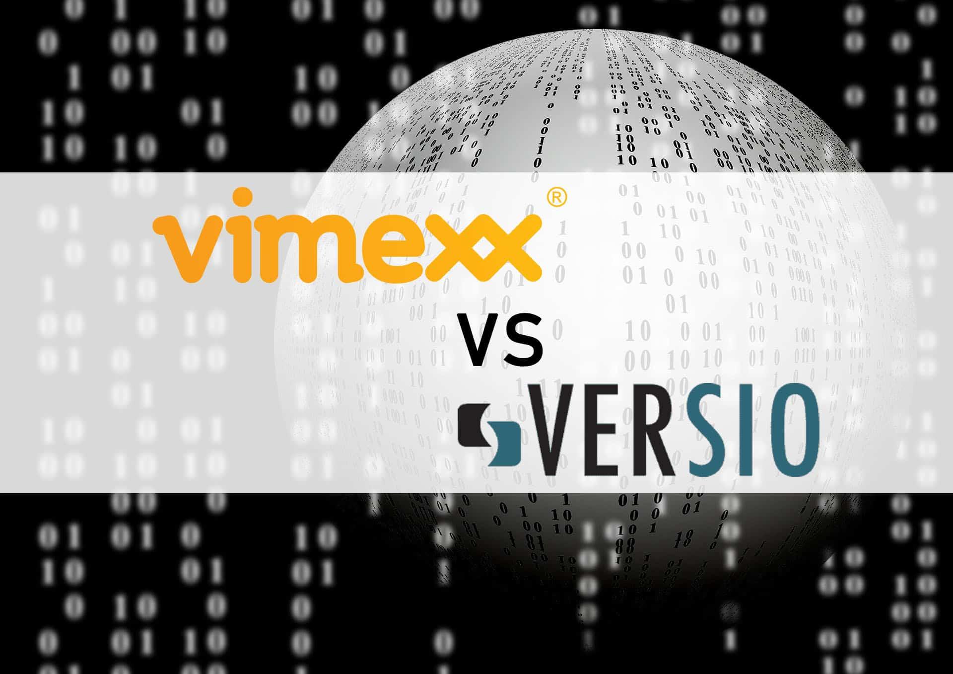 Vimexx versus Versio webhosting domeinnamen