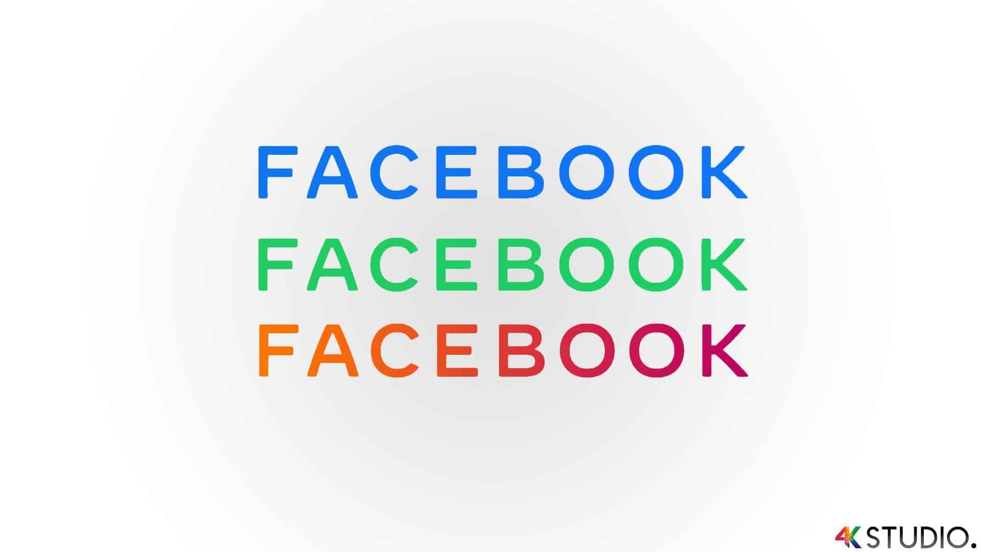 Facebook rolt nieuwe logo uit 2019 en 2020 Instagram WhatsApp en Facebook Messenger