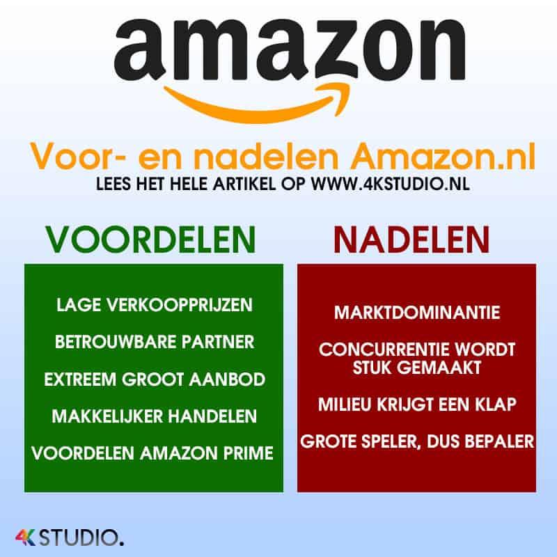Wat zijn de grootste voor en nadelen van Amazon Nederland